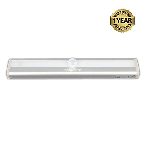Portable Wireless Motion Activated Detector Sensing LED Light Bar Automatic Stick-on Anyplace with Magnetic Strip