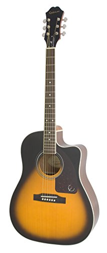 Epiphone EE2SVSNH3 AJ-220SCE Electro-Acoustic Guitar