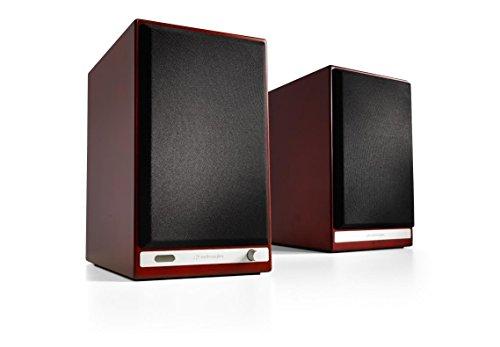 Audioengine HD6 Powered Bookshelf Speakers (Pair) Cherry