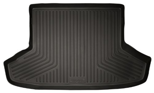 Husky Liners Custom Fit WeatherBeater Molded Rear Cargo Liner Behind 2nd Seat for Select Toyota Prius V Models (Black)