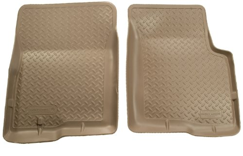 Husky Liners Classic Style Custom Fit Molded Front Floor Liner for Select Ford Excursion Models (Tan)