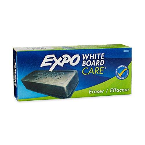 EXPO Eraser Whiteboard, White Board Eraser, Box of 1, Black (81505)