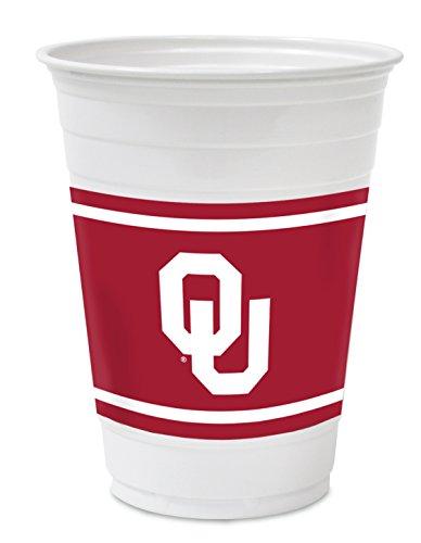 Hefty College Cups, Oklahoma Sooners, 18 oz, 84 Cups