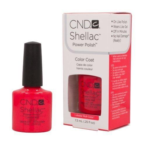 CND Shellac LOBSTER ROLL Soak Off Gel UV Nail Polish 0.25 oz 2013 Summer Splash by CND Cosmetics