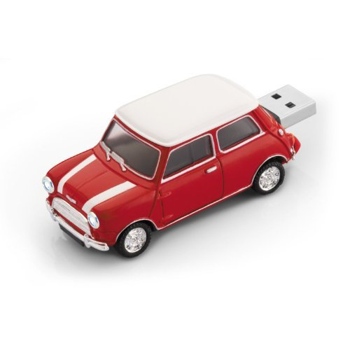 8 GB Mini Cooper Car USB flash pen drive memory stickPen -Red