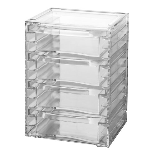 US Acrylic® Clear Organizer with 4 Removable Drawers