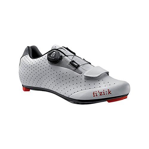 Fi'zi:k R5B Uomo Boa Shoe - Men's White/Light Gray, 44.5