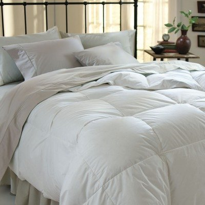 All-Season Luxurious Down Alternative Hypoallergenic Comforter, Solid White, King
