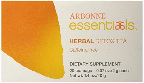 Arbonne Herbal Detox Tea, 20 Count