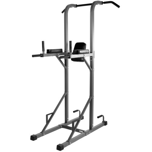 XMark Power Tower with Dip Station and Pull Up Bar