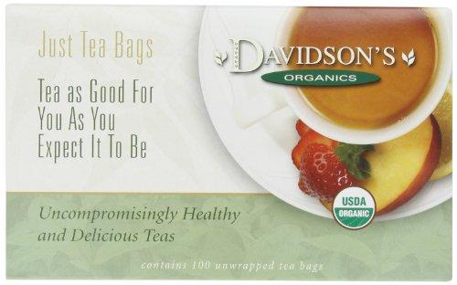 Davidson's Tea Christmas Tea, 100-Count Tea Bags