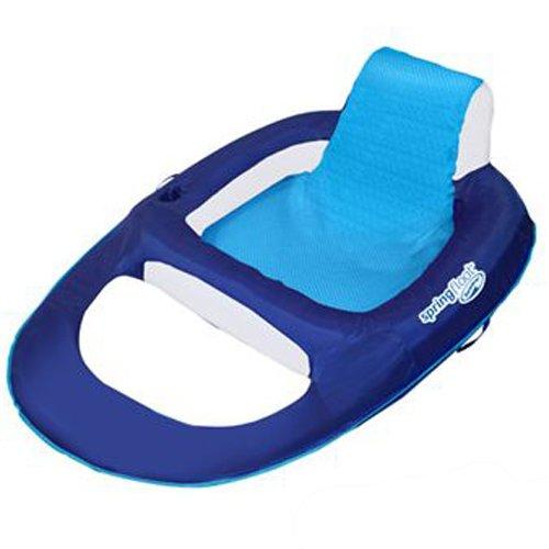 SwimWays Spring Float Recliner (Blue/Aqua)