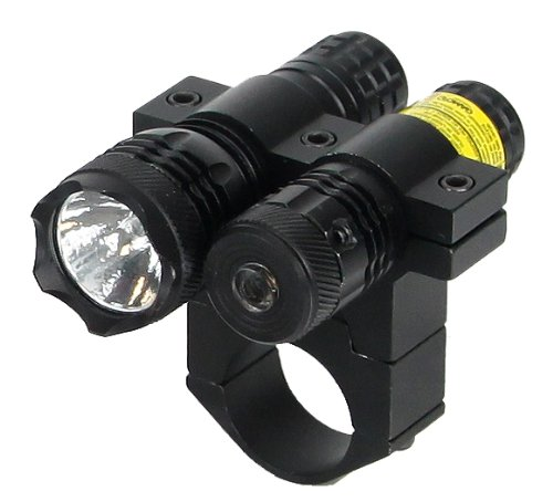 BSA Optics TWLLCP 650nm Tactical Weapon Red Laser Sight with 80 Lumen Flashlight