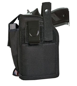 Fits Gun with Laser Side Holster Glock 17, 19, 22, 23, 25, 31, 32, 33, 38
