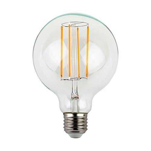 LIGHTSTORY G30 3W Vintage LED Edison Bulb 40W Equivalent, E26 Base, 2200K, Global Bulb, Non-dimmable