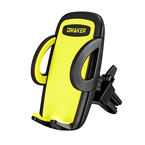 Omaker Adjustable Car Phone Mount Phone Holder Allows for The Easiest Insertion, Removal, Reposition