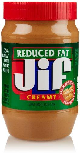 Jif Creamy Reduced Fat Peanut Butter Spread, 40 Oz