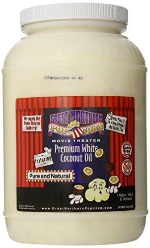 Great Northern Popcorn Premium White Coconut Oil, Gallon