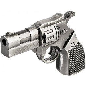 High Quality 32 GB Metal Gun shape USB Flash drive