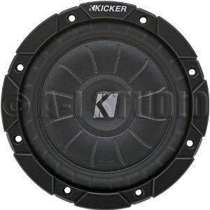 Kicker 6.5 CompVT Car Subwoofer 2 OHM 10CVT652