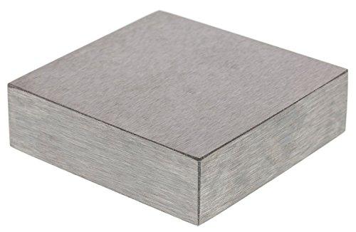 Steel Bench Block, Sm (2.5x2.5x.5in) - BB22