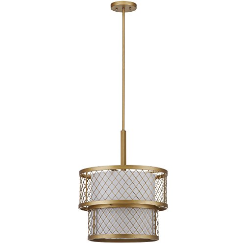 Safavieh Lighting Collection Evie Antique Gold 57-inch Pendant Light