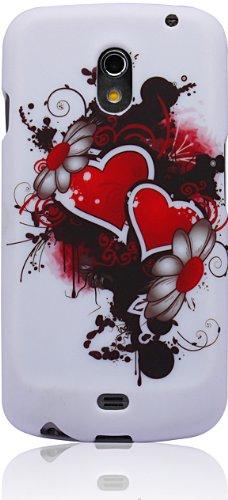 Hearts and Daisies - Cruzer Lite Design TPU Gel Case - For Galaxy Nexus by Samsung [Cruzer Lite Retail Packaging]