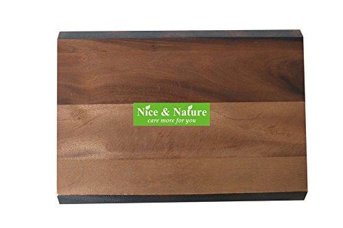 Chopping Board Acacia Wood, Acacia Edge Grain Prep Station Cutting Board, Acacia Wood Cutting Board, Pantryware 17 x 12 Wood Cutting Board, Acacia Bread Cutting, Rounded Presentation Board Acacia