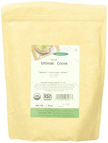 Davidson's Tea Bulk, Ultimate Cocoa, 16-Ounce Bag