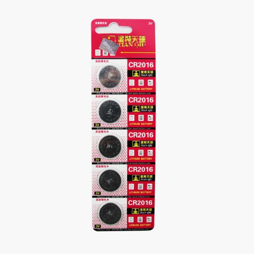 SE CR2016 Battery, 25 batteries total