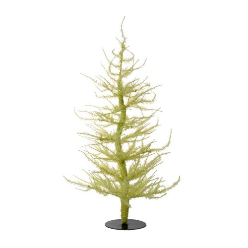Vickerman Whimsical Yellow Laser Artificial Christmas Tree, 5'