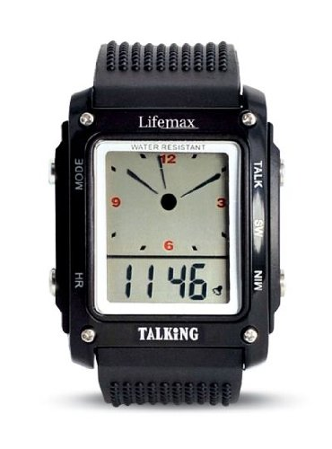 Talking LCD Analogue and Digital Watch