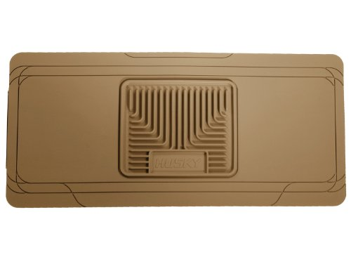Husky Liners 53003 Semi-Custom Fit Heavy Duty Rubber Center Hump Floor Mat, Tan