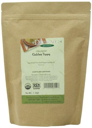 Davidson's Tea, Golden Tippy, 16-Ounce Bag