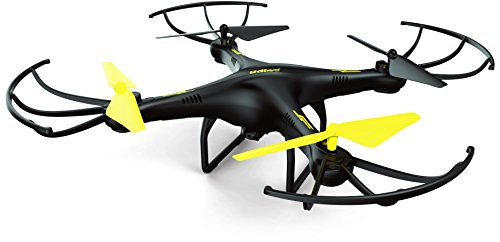 U45 Altitude Hold Drone with One Button Take Off and Landing + HD Camera - 4GB SanDisk Micro SD Card and Extra Battery Included (Exclusive Black Yellow Color)