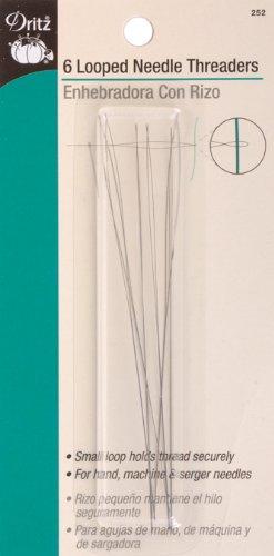 Dritz Looped Needle Threaders  - 6 Count