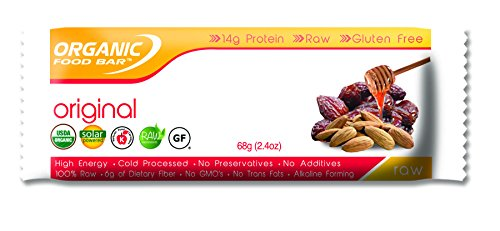 Organic Food Bar, Original Bars, 68 gm (Pack of 12)