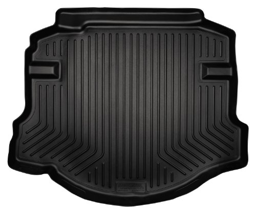 Husky Liners Custom Fit WeatherBeater Molded Trunk Liner for Select Lincoln MKS/Ford Taurus Models (Black)