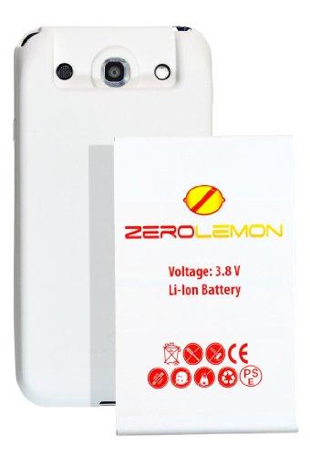 [180 days warranty] ZeroLemon LG Optimus G Pro 9300mAh Extended Battery + Free White Extended TPU Full Edge Protection Case with 180 days Zero Lemon Guarantee Warranty (Compatible with LG Optimus G Pro , T-Mobile Optimus G Pro , Sprint Optimus G Pro At&t LG Optimus G Pro E980, Verizon and International F240) With 180 Days ZeroLemon Guarantee Warranty - WORLD'S HIGHEST OPTIMUS G PRO BATTERY CAPACITY **USA PATENT PENDING DESIGN** - White