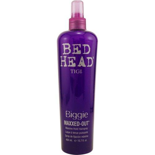 Tigi Biggie Maxxed Out Massive Hold Spray for Unisex, 15.7 Ounce
