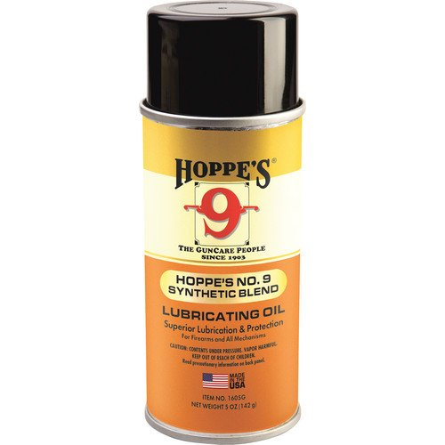 Hoppe's No. 9 Synthetic Blend Lubricating Gun Oil, 5-Ounce