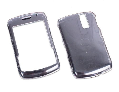 IO Crest See Thru Hard Shell Case for BlackBerry Curve 8330