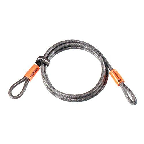Kryptonite 720018210610 KryptoFlex 3/8-Inch x 7-Feet 1007 Double Loop Security Cable
