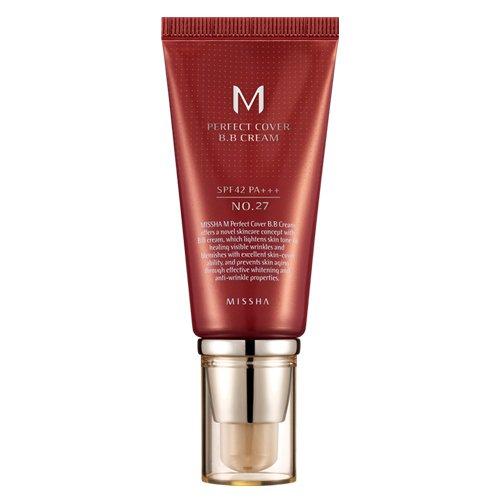 Missha M Perfect Cover BB Cream SPF 42 PA+++ 50ml No.27 (Honey Beige)