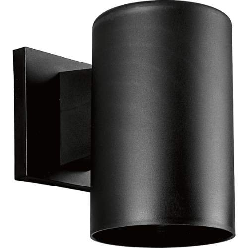 Progress Lighting P5712 Cylinder 1 Light Outdoor Wall Sconce with Polycarbonate,