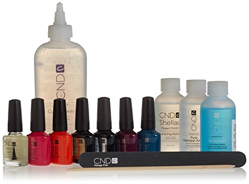 CND Creative Nail TRENDY Shellac Trial Pack Collection