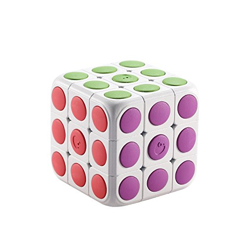 Cube-tastic! 3D Puzzle Cube anyone can learn to solve! Brain Teaser AR Technology Toy for Kids cube 3x3