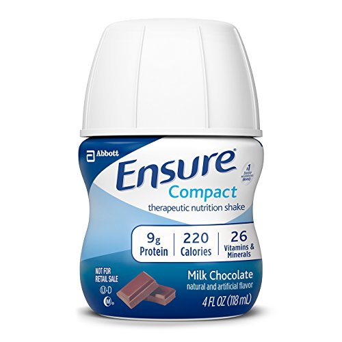 Ensure Compact Nutrition Shake, Chocolate, 16 Count