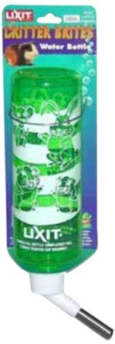 Lixit Assorted Critter Brites Deluxe Guinea Pig Bottle, 16-Ounce