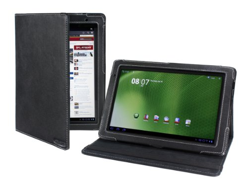 Cover-Up Acer Iconia Tab A500 / A501 10.1 Tablet Cover Case (Version Stand) - Black